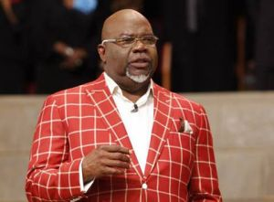TD Jakes Says New Book — INSTINCT — 'Is Not Really Saturated