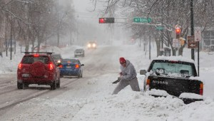 Southern Wisconsin Hit By Major Blizzard