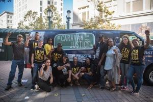 #CaravanForJustice, Black Lives Matter