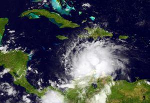 Hurricane Matthew Churns in Caribbean