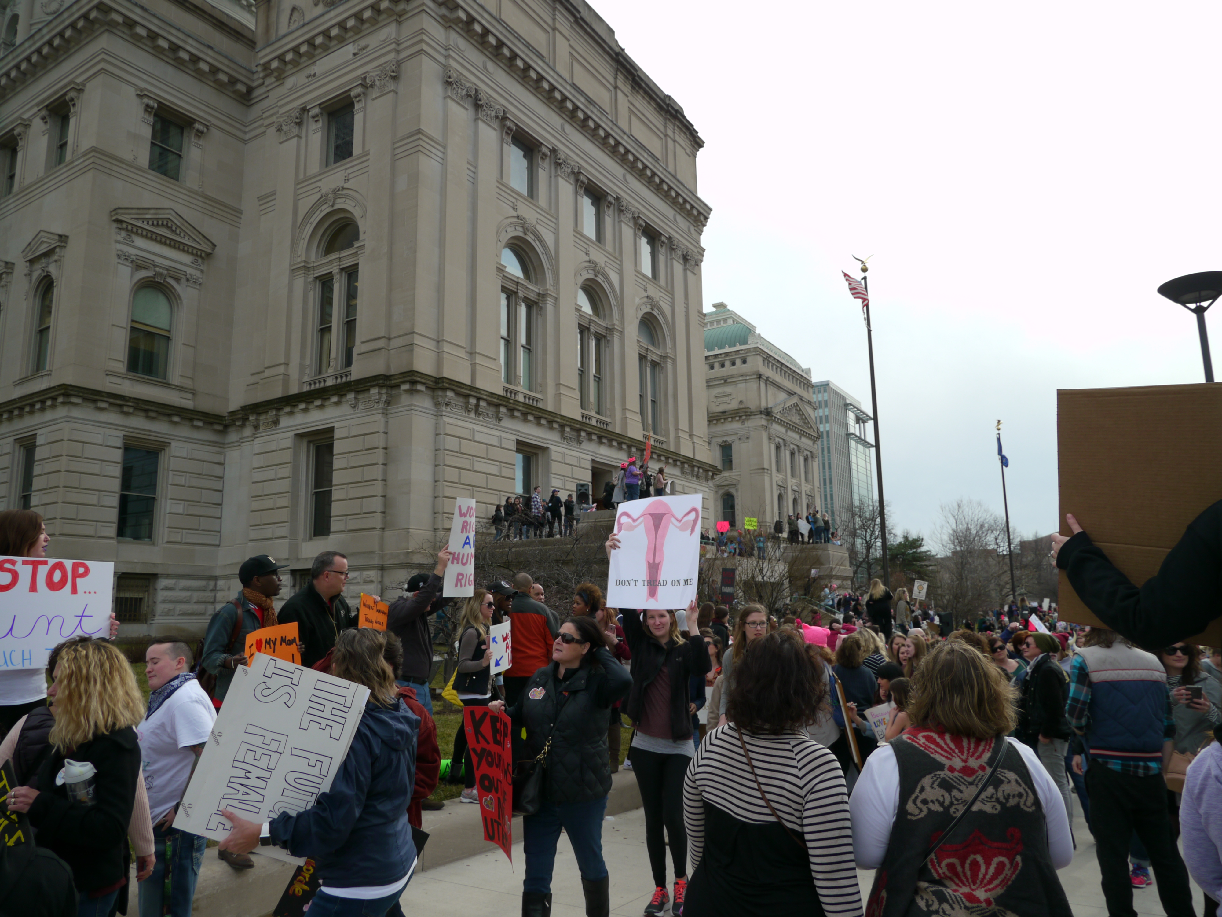 Women's march Indianapolis