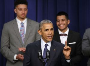 President Obama Speaks At My Brother's Keeper Summit At The White House