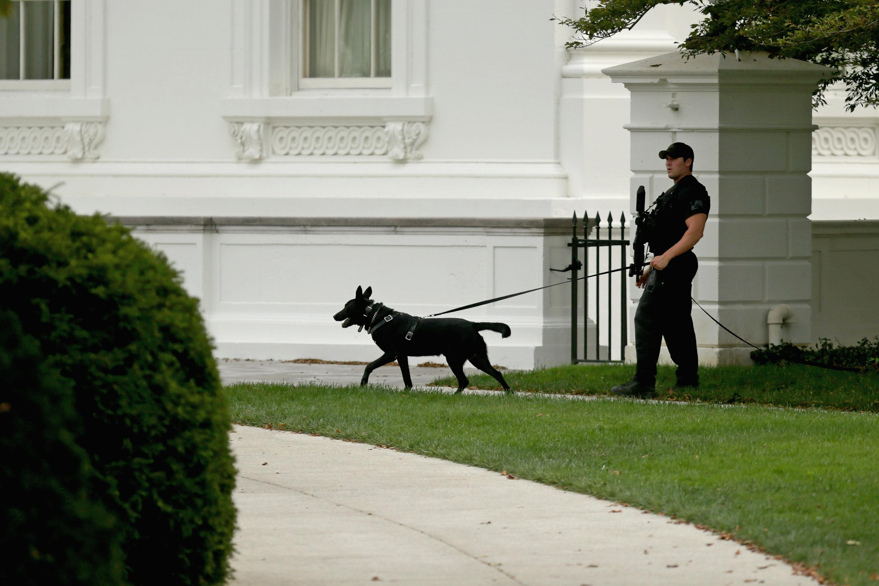 White House On Lockdown After Shooting At U.S. Capitol