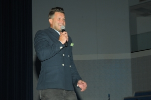 Wess Morgan At 2017 Spirit Of Praise