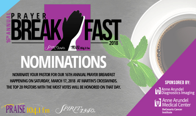 16th Annual Prayer Breakfast