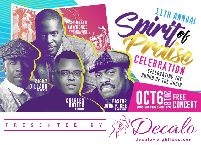 Spirit of Praise - Presented by Decalo