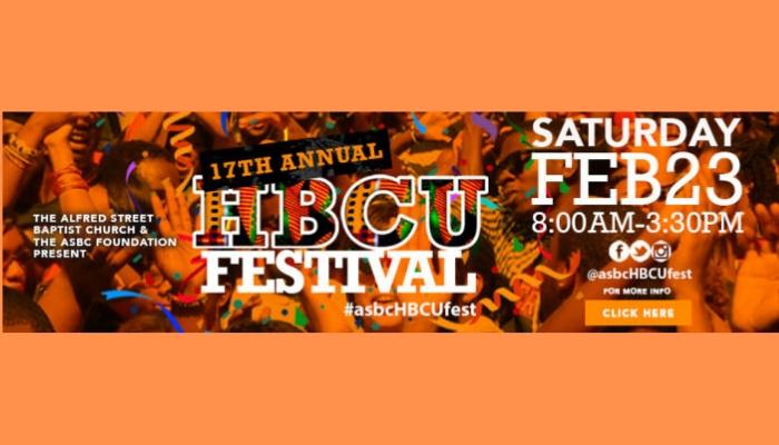 17th Annual Alfred Street Baptist Church HBCU College Festival