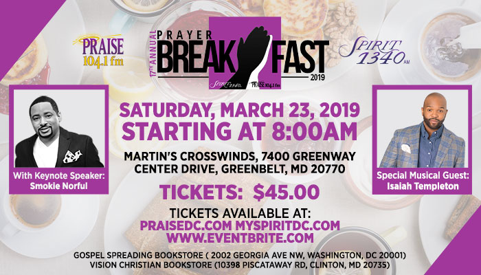 Prayer Breakfast With Guests