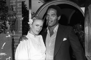 Nicole Brown and OJ Simpson