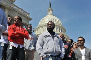Hoodies on the Hill Vigil for Trayvon Martin