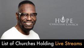 DMV Churches Holding Live Streams Online